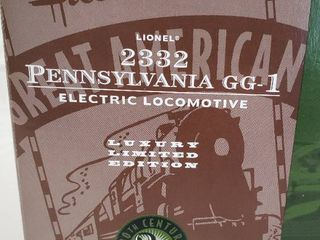 Ho Scale lionel 2332 Pennsylvania Gg 1 20th Century 2nd Series luxury limited Electric locomotive   New