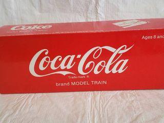 ltd  Edition Coca Cola Brand Model Train
