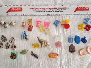 Vintage Cracker Jack Charm Prizes