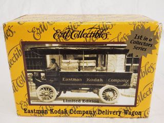 Eastman Kodak Company Delivery Wagon Ertl Die Cast Metal Collectibles