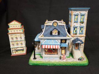 Party lite Votive Village Pieces   Olde World Village  6