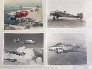 4  Original 8 x 10 Beech Aircraft Photos   U S  Navy