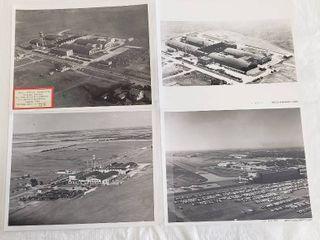 4  Original 8 x 10 Beech Aircraft Photos   Factory