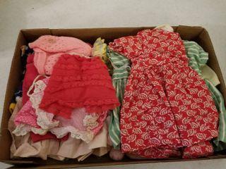 Small doll dresses