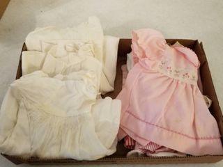 Vintage baby dresses clothes