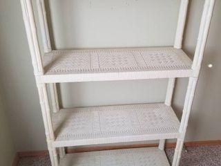 Plastic cane shelves
