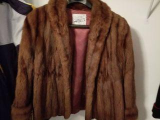 Womens lAX mink jacket size large