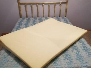 Full size foam mattress pad