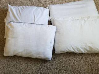 Standard pillows set of 4