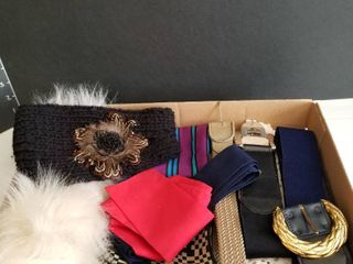 Belts  scarves and head bands