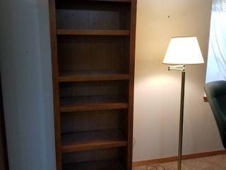 Wood book shelves 72 x 28 x 12