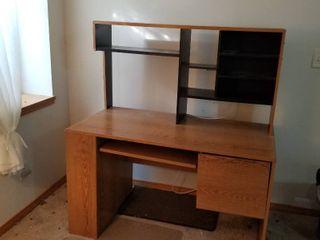 Desk with hutch 53 x 48 x 24