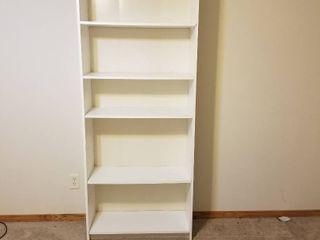 White shelf 72 x 30 x 12