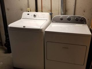 Maytag Bravos washer and Whirlpool dryer