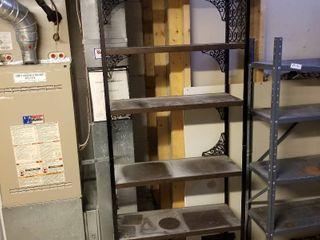Metal shelf 76 x 30 x 12