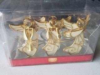 Angel votive candle holder