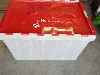 Storage totes qty 2