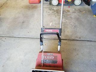 Toro electric snow blower