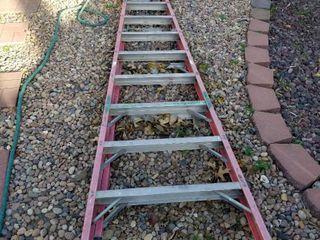 Metal 10 ft stepladder