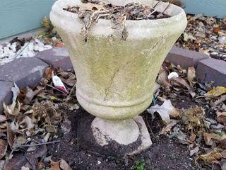 Decorative pot 10  dia x 14