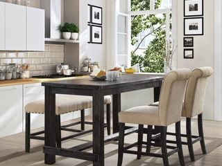 60 inch Counter Dining Table