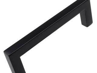 Black GlideRite 10pk Square Cabinet Pulls