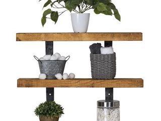 Del Hutson Designs Industrial Grace Three Tier Floating Shelves Retail 83 99