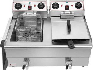 Zokop 16 9 Qt Stainless Steel Fryer