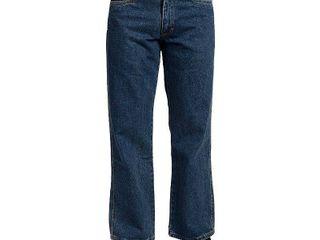 Stanley Mens Medium Blue 32x30 Basic 5 Pocket Denim Jean  SEE PHOTOS