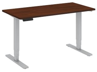 Bush Beautiful Furniture Height Adjustable Standing Desk   Base Only   See photos