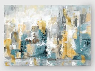 Wexford Home City Views I Premium Gallery Wrapped Canvas Wall Art Retail 95 49