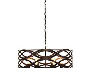 Chloe 6 light Oil Rubbed Bronze Chandelier Retail 177 99