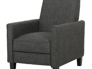 Noble House Home Furnishings Dark Gray Chair