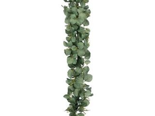 6 Foot Eucalyptus Garland Green