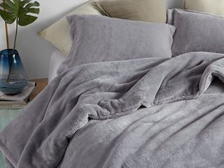Byourbed Coma Inducer Me Sooo Comfy Alloy Grey King Comforter Retail 121 49