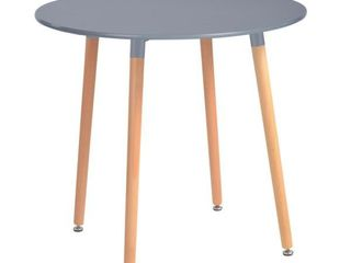 Furniture R Rookie Round Top Dining Table Grey