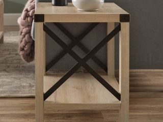 The Gray Barn 18in Kujawa X Accent Side Table Retail 114 49