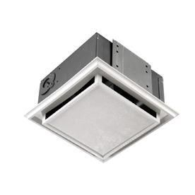 Broan 682 Bathroom Ventilation Fan with Charcoal Filter and White Plastic Grille RETAIl  40 88