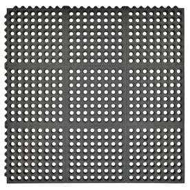 Mohawk Home Utility Bay Black Rectangular Door Mat  Common  3 ft x 3 ft  Actual  36 in x 36 in  RETAIl  25 98