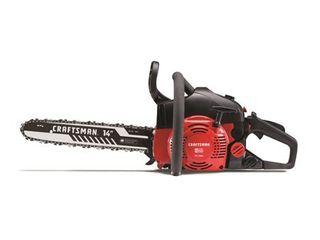 Craftsman 14 in  Gas Powered Chainsaw RETAIl  119
