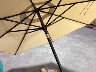 9 FT TAN MARKET UMBREllA umbrella outfit