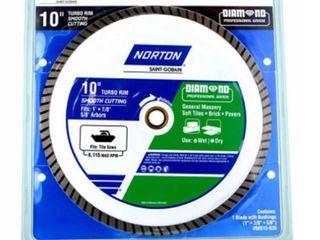 Ali Industries 241445 10 in  Turbo Rim Diamond Saw Blade RETAIl  70 42