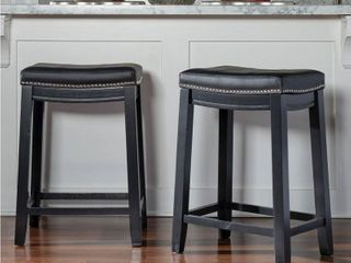 Copper Grove Willamette Backless Counter Stool  Set of 2