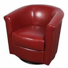 Red Porter Marvel Swivel Barrel Accent Chair Retail  409 49