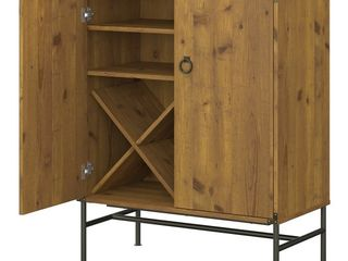 Ironworks Bar Cabinet from kathy ireland Home by Bush Furniture Retail 356 99
