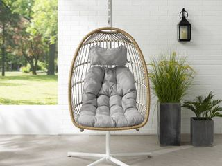 Havenside Home Outdoor Swing Egg Chair with Stand Retail 467 99
