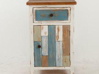 Multicolor Wood Small Rustic Console Cabinet Retail 157 49
