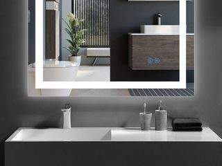 Wall Mounted lED lighted Bathroom Mirror Retail 208 99