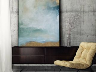 large Imprint III Premium Gallery Wrapped Canvas Retail  103 99