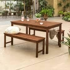 Surfside 3 piece Acacia Outdoor Dining Set by Havenside Home Retail 419 99
